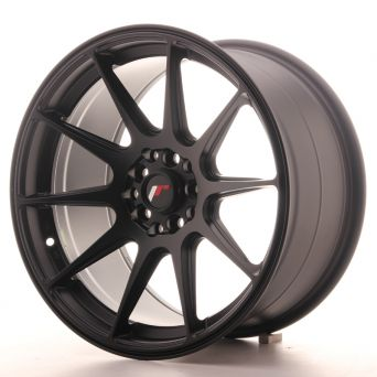 Japan Racing Wheels - JR-11 Matt Black (17x9 inch)