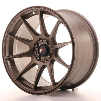 Japan Racing Wheels - JR-11 Matt Bronze (17x9.75 inch)