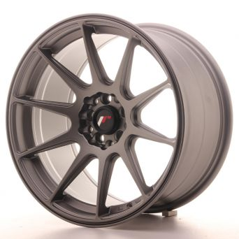 Japan Racing Wheels - JR-11 Matt Gun Metal (17x9 inch)