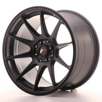 Japan Racing Wheels - JR-11 Matt Black (17x9.75 inch)