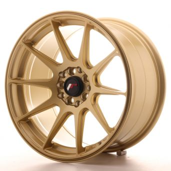 Japan Racing Wheels - JR-11 Gold (17x9 inch)