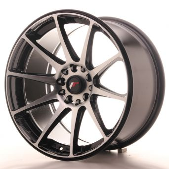 Japan Racing Wheels - JR-11 Black Machined (18x9.5 Zoll)