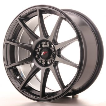 Japan Racing Wheels - JR-11 Dark Hyper Black (18x8.5 inch)
