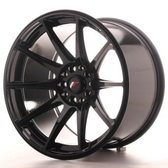 Japan Racing Wheels - JR-11 Glossy Black (18x10.5 inch)