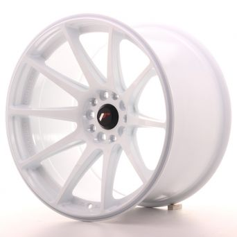 Japan Racing Wheels - JR-11 White (18x10.5 inch)