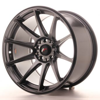 Japan Racing Wheels - JR-11 Dark Hyper Black (18x10.5 inch)