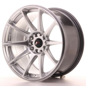 Japan Racing Wheels - JR-11 Hyper Silver (18x9.5 inch)