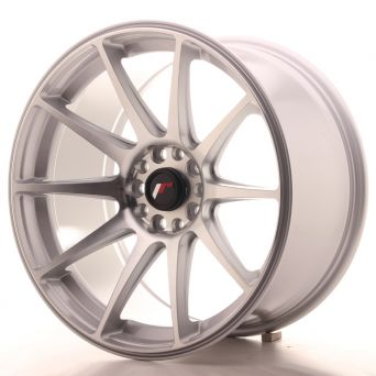 Japan Racing Wheels - JR-11 Silver Machined (18x9.5 inch)