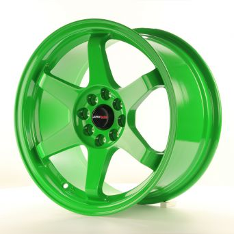 Japan Racing Wheels - JR-3 Green (16 inch)