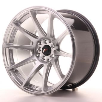 Japan Racing Wheels - JR-11 Hyper Silver (18x10.5 inch)
