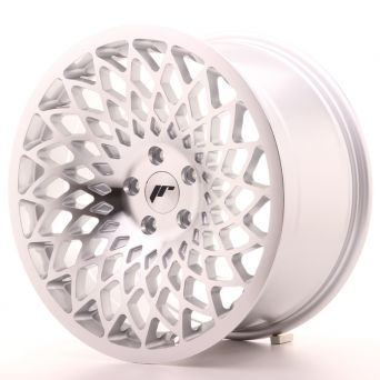 Japan Racing Wheels - JR-17 Silver Machined Face (18x9.5 Zoll)