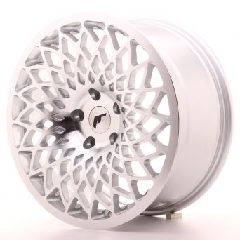 Japan Racing Wheels - JR-17 Silver Machined Face (18x8.5 Zoll)