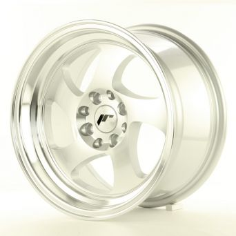 Japan Racing Wheels - JR-15 Machined Silver (15 inch)