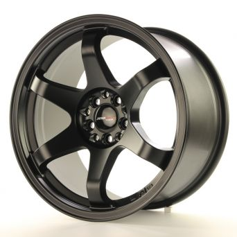 Japan Racing Wheels - JR-3 Matt Black (17x9 Zoll)