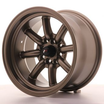 Japan Racing Wheels - JR-19 Matt Bronze (15x9 inch)