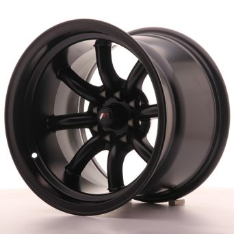 Japan Racing Wheels - JR-19 Flat Black (15x10.5 inch)