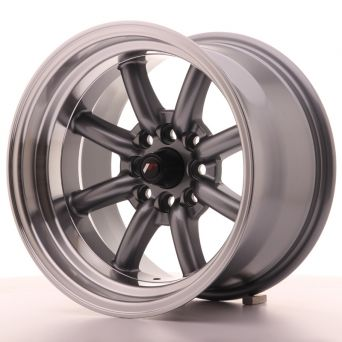 Japan Racing Wheels - JR-19 Gun Metal (15x9 inch)