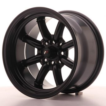 Japan Racing Wheels - JR-19 Flat Black (15x9 inch)