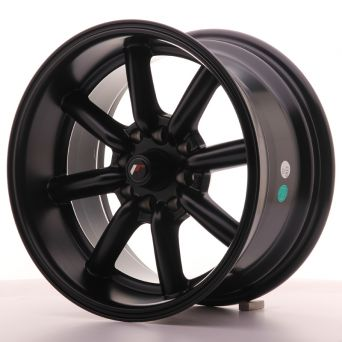 Japan Racing Wheels - JR-19 Flat Black (15x8 inch)