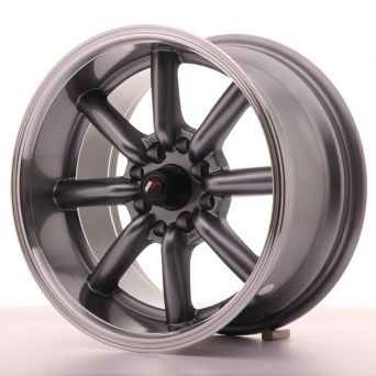 Japan Racing Wheels - JR-19 Gun Metal (15x8 inch)