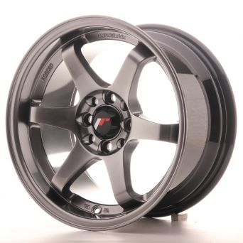 Japan Racing Wheels - JR-3 Hyper Black (15 inch)