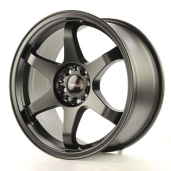 Japan Racing Wheels - JR-3 Matt Black (17x8 Zoll)