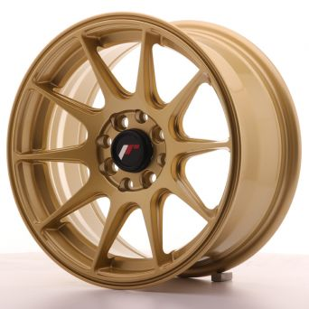 Japan Racing Wheels - JR-11 Gold (15x7 inch)