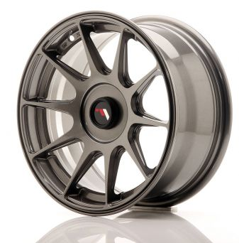 Japan Racing Wheels - JR-11 Dark Hyper Black (15x7 inch)