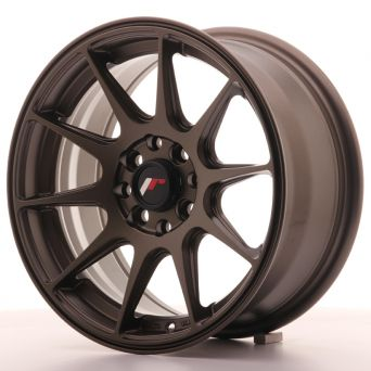 Japan Racing Wheels - JR-11 Matt Bronze (15x7 inch)