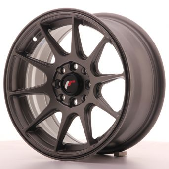 Japan Racing Wheels - JR-11 Matt Gun Metal (15x7 inch)