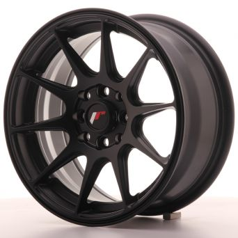 Japan Racing Wheels - JR-11 Flat Black (15x7 inch)