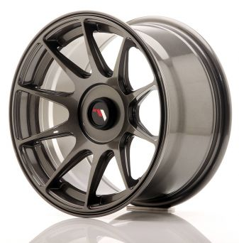 Japan Racing Wheels - JR-11 Dark Hyper Black (15x8 inch)