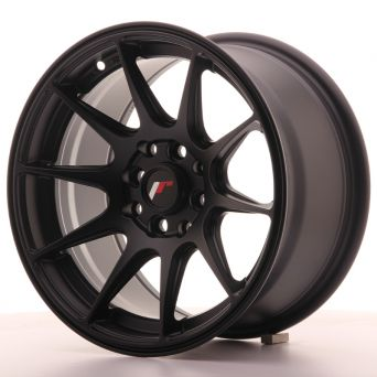 Japan Racing Wheels - JR-11 Flat Black (15x8 inch)
