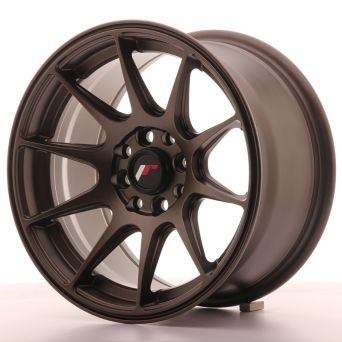Japan Racing Wheels - JR-11 Matt Bronze (15x8 inch)