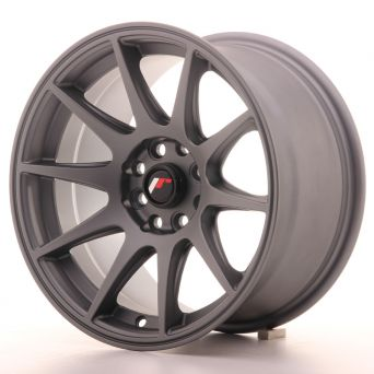Japan Racing Wheels - JR-11 Matt Gun Metal (15x8 inch)