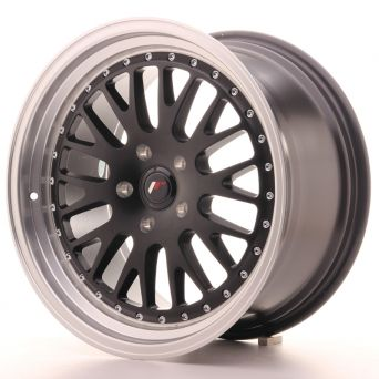 Japan Racing Wheels - JR-10 Matt Black (18x9.5 inch)