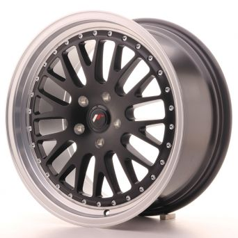 Japan Racing Wheels - JR-10 Matt Black (18x8.5 inch)