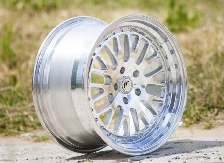 Japan Racing Wheels - JR-10 Full Machined (18x9.5 inch)