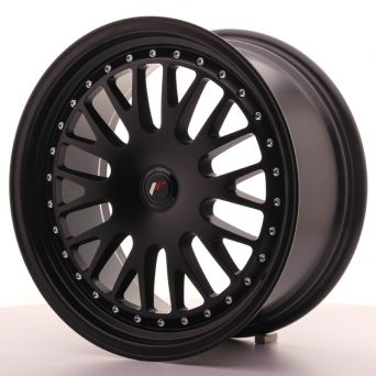 Japan Racing Wheels - JR-10 Full Matt Black (18x8.5 inch)