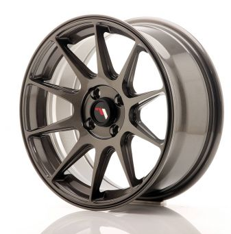 Japan Racing Wheels - JR-11 Dark Hyper Black (16 inch)