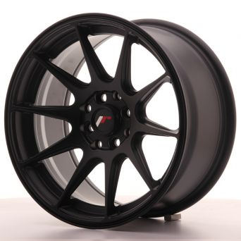 Japan Racing Wheels - JR-11 Flat Black (16 inch)