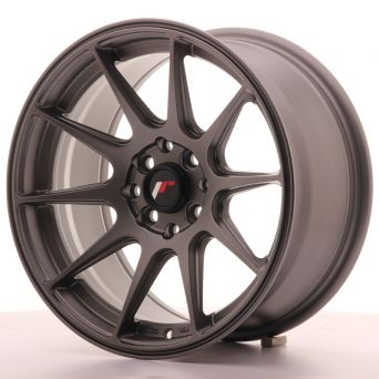 Japan Racing Wheels - JR-11 Matt Gun Metal (16 inch)