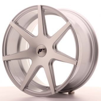 Japan Racing Wheels - JR-20 Silver Machined (18x8.5 Zoll)