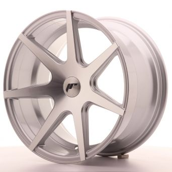 Japan Racing Wheels - JR-20 Silver Machined (18x9.5 Zoll)