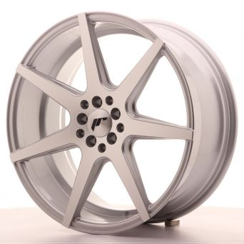 Japan Racing Wheels - JR-20 Silver Machined (19x8.5 inch)