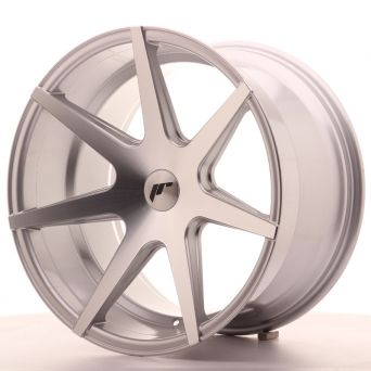 Japan Racing Wheels - JR-20 Silver Machined (19x11 Zoll)