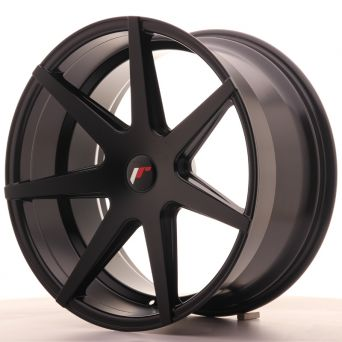 Japan Racing Wheels - JR-20 Matt Black (20x10 Zoll)