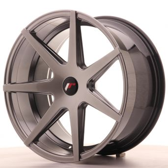 Japan Racing Wheels - JR-20 Hiper Black (20x10 Zoll)