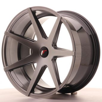 Japan Racing Wheels - JR-20 Hiper Black (20x11 Zoll)