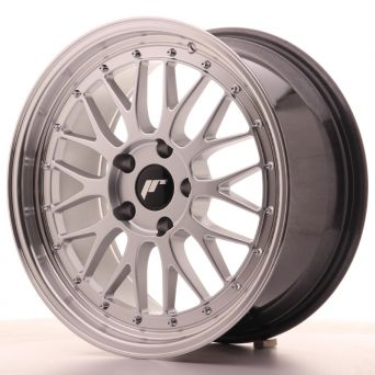 Japan Racing Wheels - JR-23 Hiper Silver (18x8.5 inch)